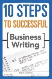 10 steps to successful business writing jack e-appleman-paperback-cover-art